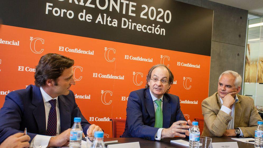 Foto: Pere Viñolas en el evento de Alta Dirección.