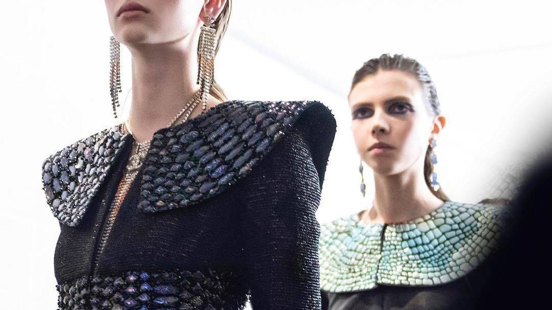 Una Cleopatra actualizada a través del maquillaje de Chanel.
