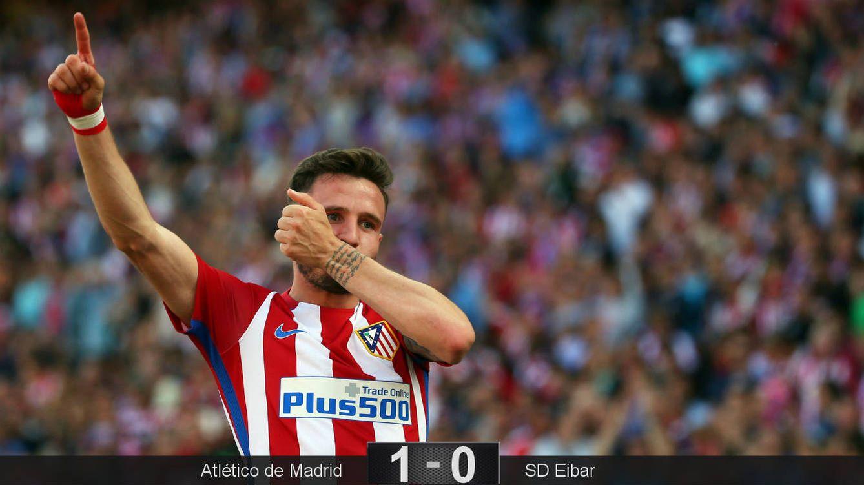 Saúl prepara al Atlético para el gran combate contra el Real Madrid