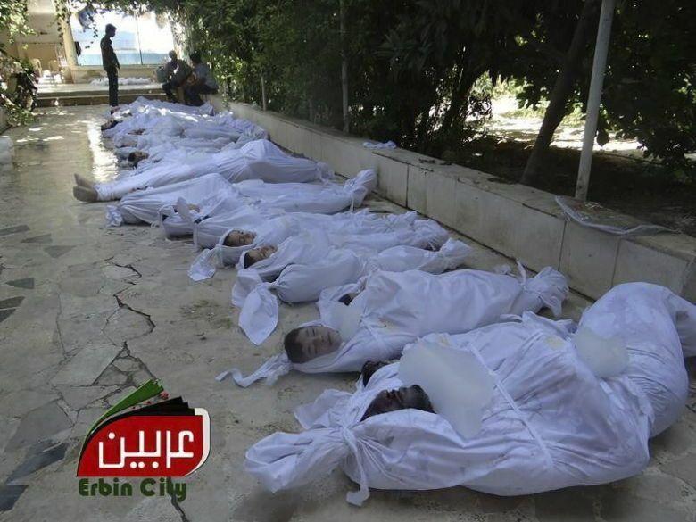 El régimen sirio ataca con gas a rebeldes