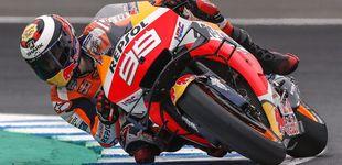 Post de Márquez saldrá tercero en Jerez y Lorenzo, décimo primero tras irse al suelo