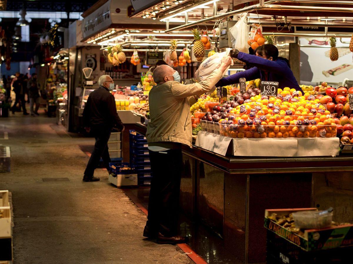 Foto: Imagen del Mercado de la Boquería (EFE)