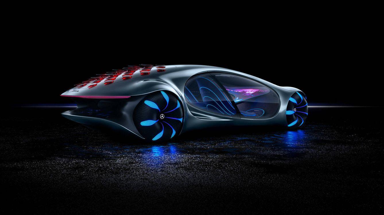 Foto: Mercedes-Benz Vision AVTR 2021. (Mercedes)