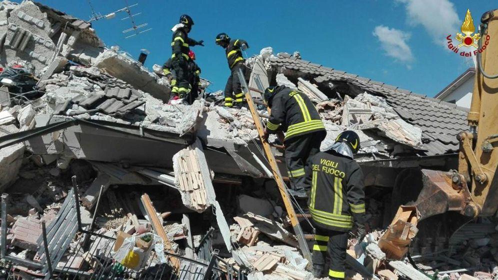 Foto: Decenas de muertos y desaparecidos en devastador seísmo en centro de italia