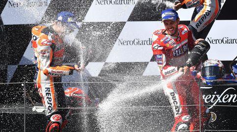 Dovizioso triunfa en Austria, Márquez no puede sofocar la rebelión de Ducati