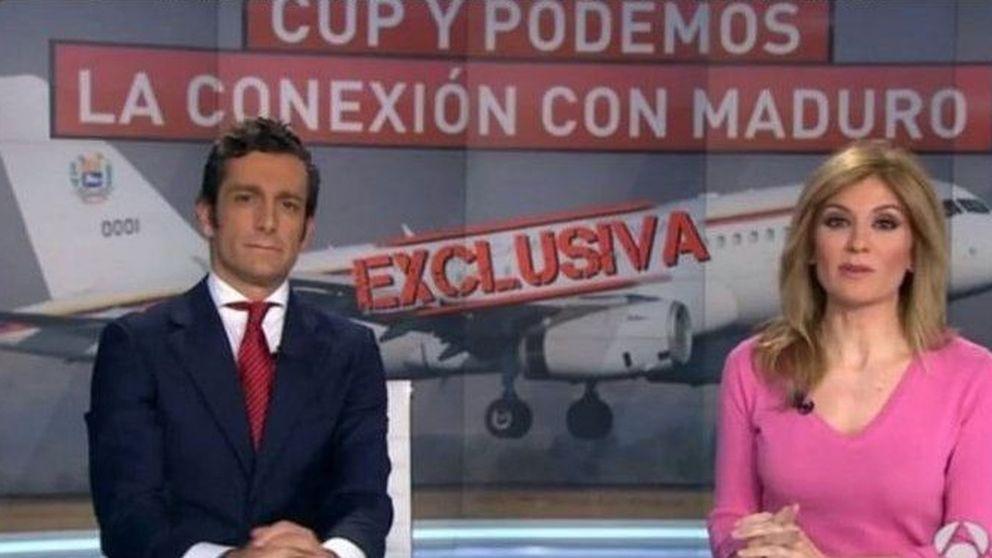Nos van a dar pero bien: la reacción de A3 a la exclusiva sobre Podemos y Venezuela