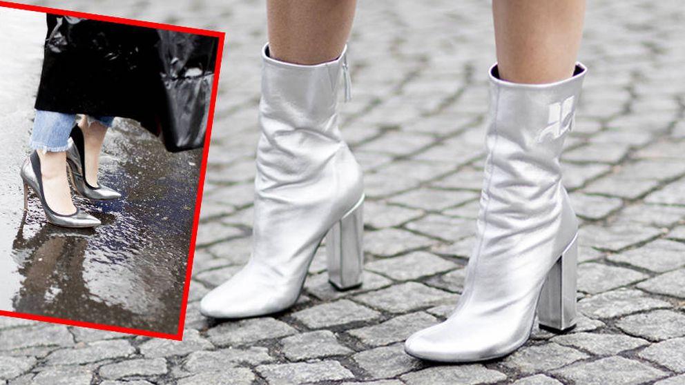 16 zapatos metalizados que puedes sacar a bailar y a todas partes