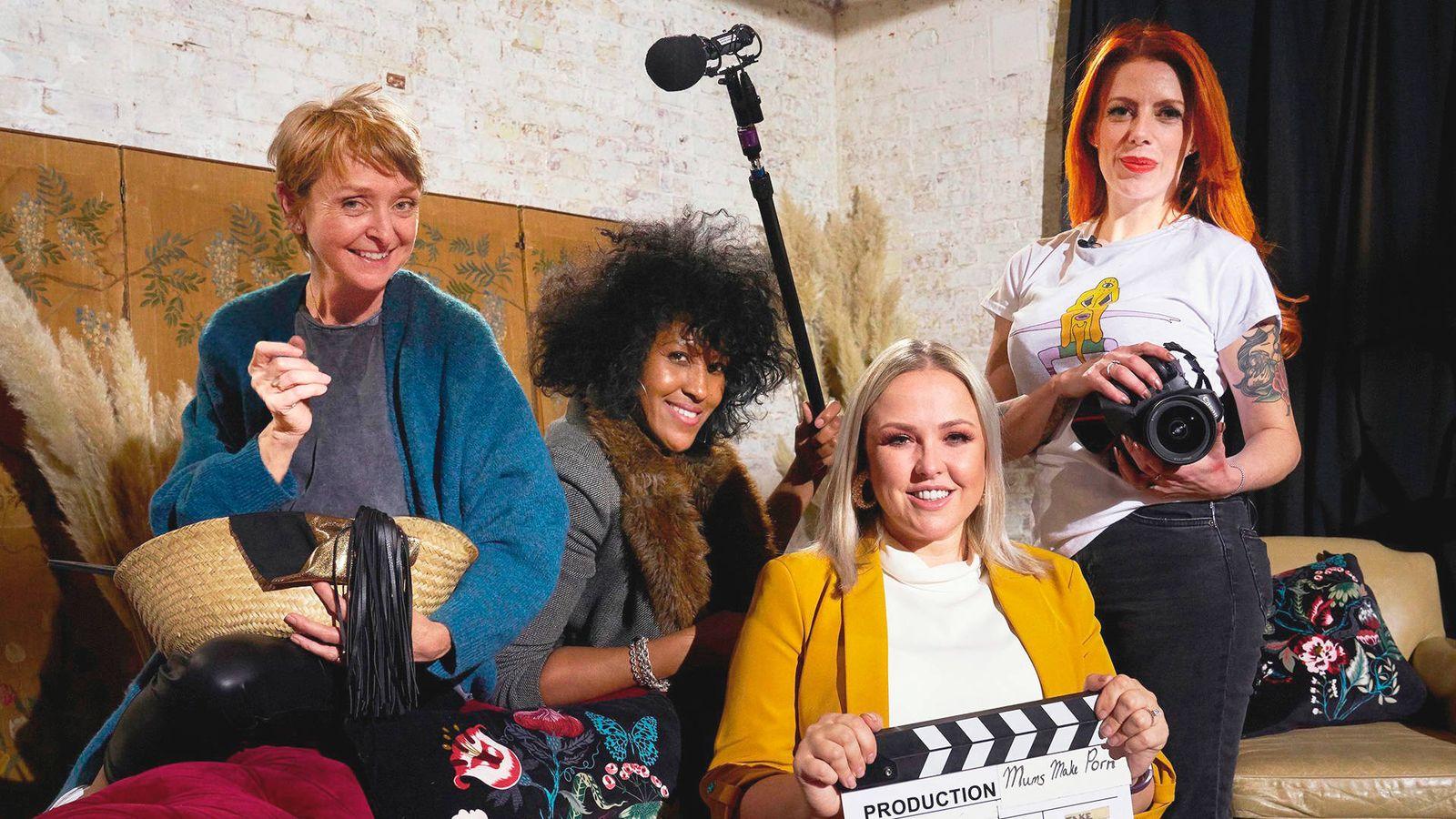 Foto: Cuatro de las protagonistas de 'Madres haciendo porno'. (Movistar )