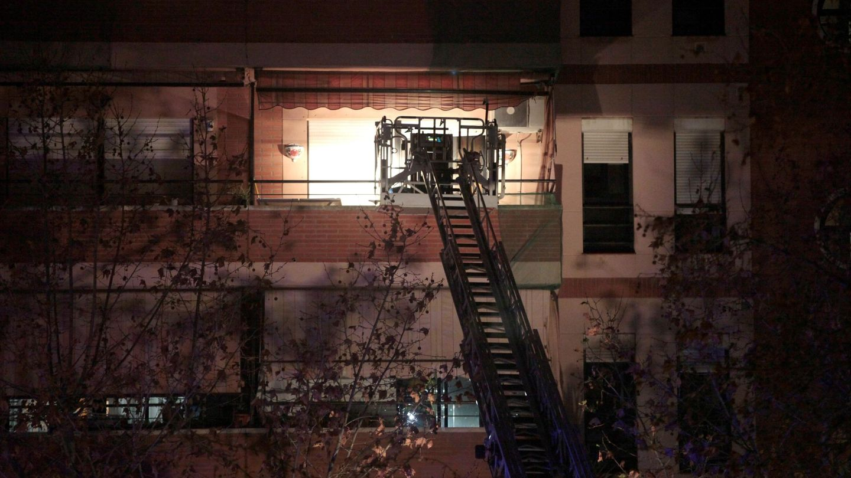 Vivienda del barrio de Torreforta en la que una persona ha fallecido como consecuencia de la fuerte explosión. (EFE)