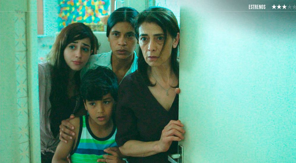 Foto: La familia protagonista de 'Alma máter'. (Surtsey Films)