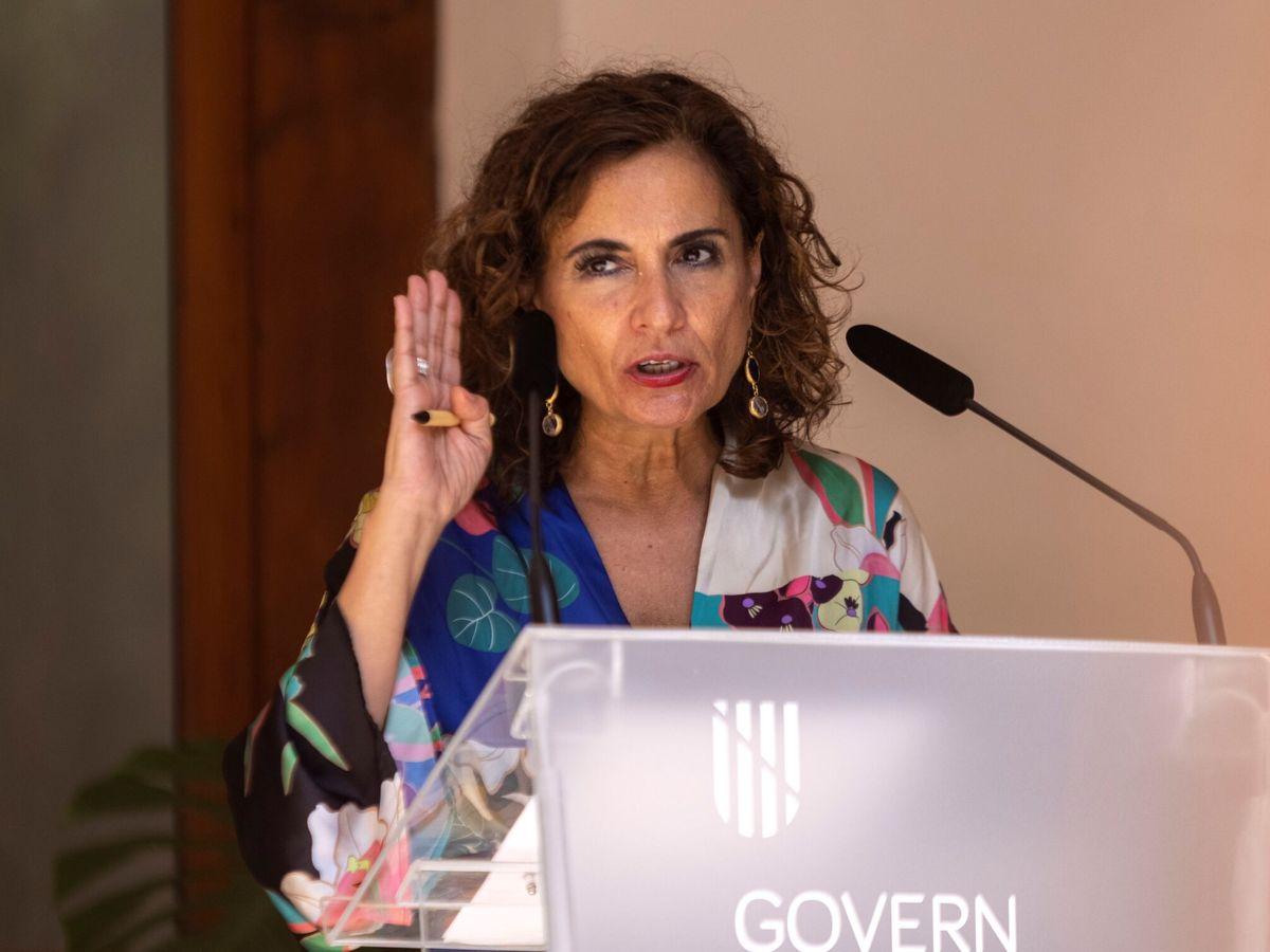 Foto: María Jesús Montero, ministra de Hacienda. (EFE)