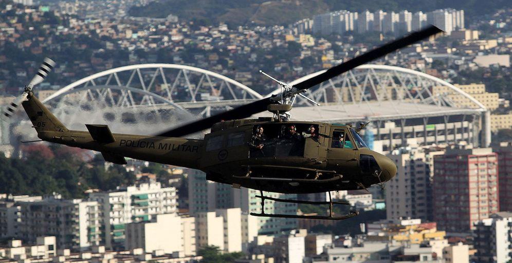 Foto: Las medidas de seguridad son extremas, pero es imposible ocultar la violencia de Río de Janeiro (EFE)