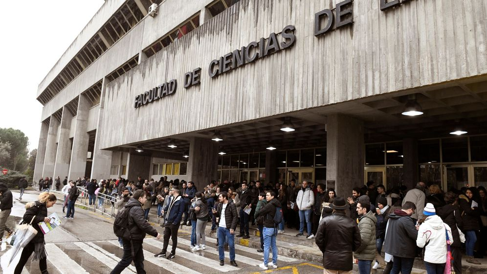 Foto: La Facultad de las Ciencias de la Salud de la Universidad Complutense. (EFE)