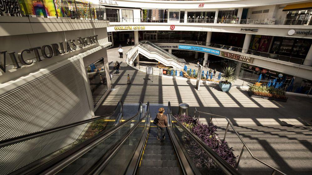 Foto: Un centrocomercial en Los Angeles (EFE)