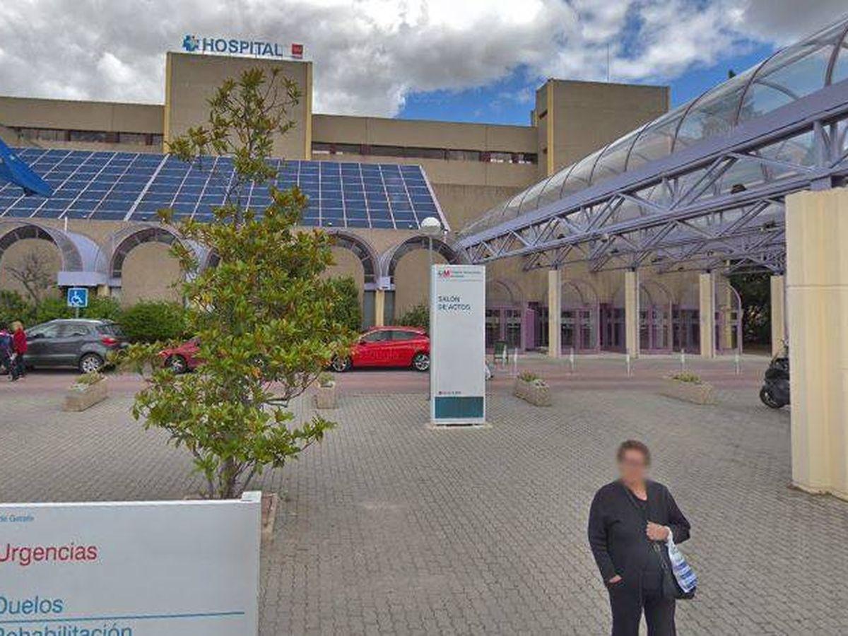 Foto: Hospital Universitario de Getafe. (Google Maps)