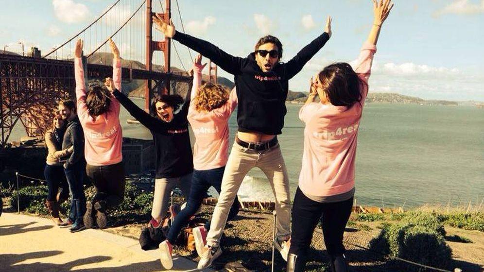Foto: El equipo de Trip4Real, en un viaje a San Francisco. (Foto: Trip4Real)