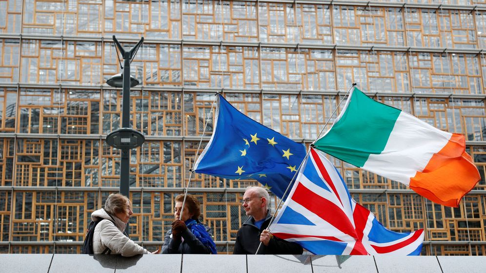 Foto: Manifestantes pro-UE. (Reuters)