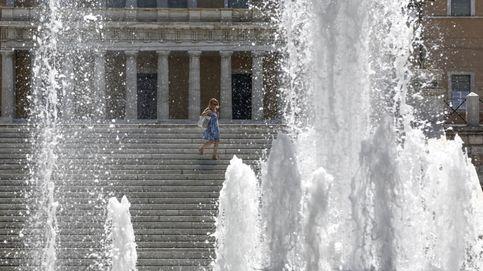 La ola de calor provoca en Grecia tormentas eléctricas y rachas huracanadas