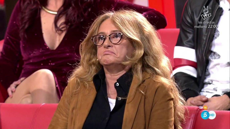 Yolanda, la madre de Carlota, en 'GH Revolution'. (Mediaset España)