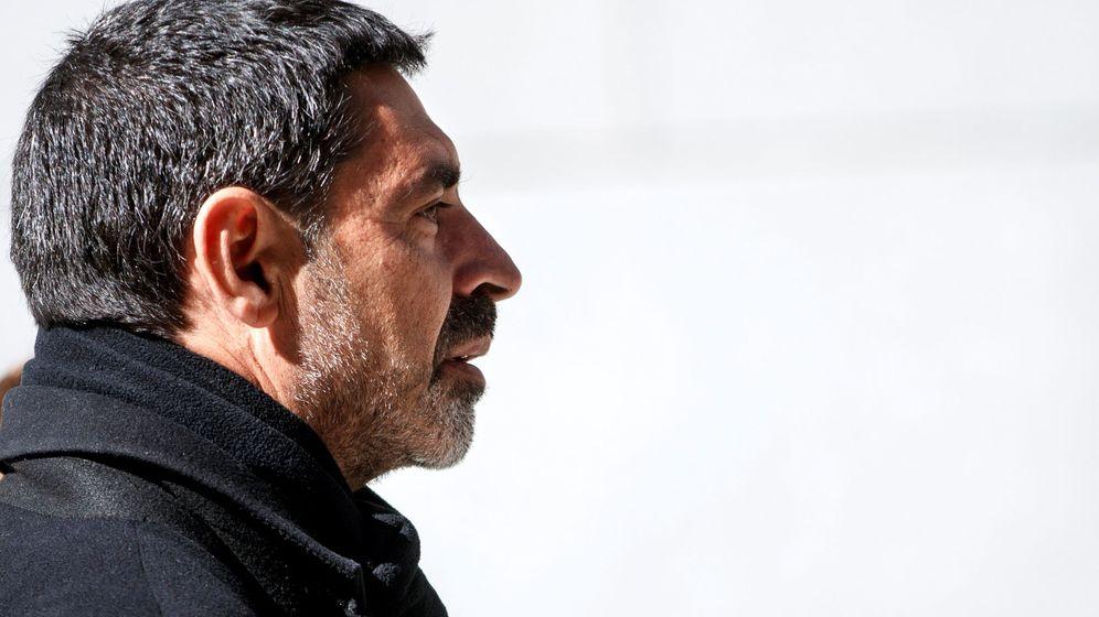 Foto: Josep Lluís Trapero, en su última declaración. (EFE)