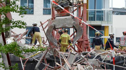 Al menos cinco muertos al colapsar una escuela en obras en la ciudad belga de Amberes