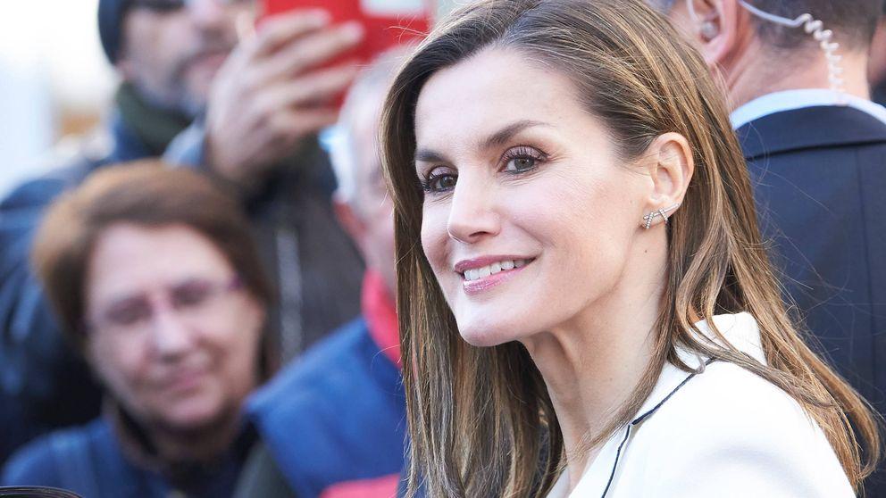 La Reina en el acto de proclamación del ganador del Premio Fundación Princesa de Girona Artes y Letras 2018