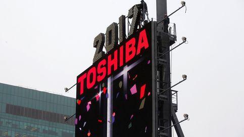 Toshiba se desploma más del 40% en bolsa en menos de una semana