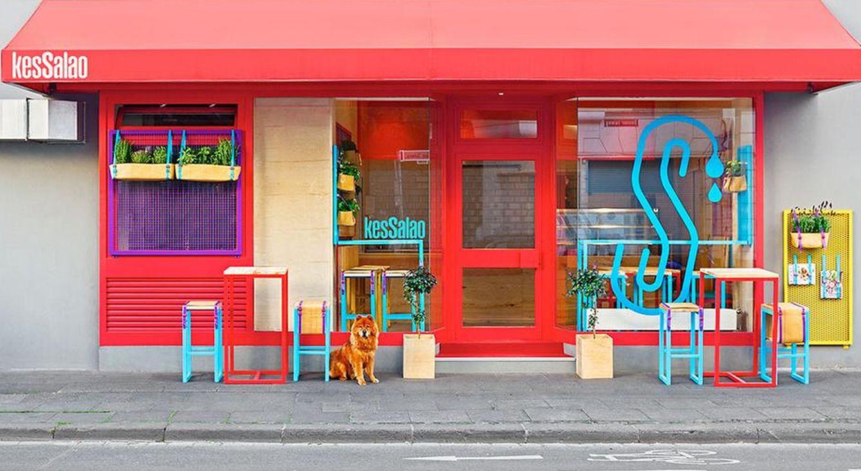 Foto: El KesSalao, en Bonn, está diseñado por el estudio valenciano Masqueespacio