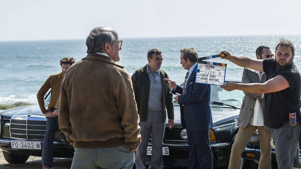 Arranca 'Fariña', con los narcos gallegos, sin metralleta, que juegan al dominó