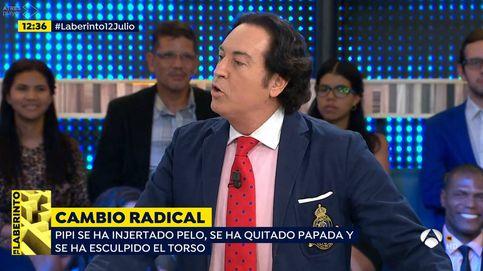 Pechos, abdomen, papada, pelo... el resultado de las operaciones de Pipi Estrada