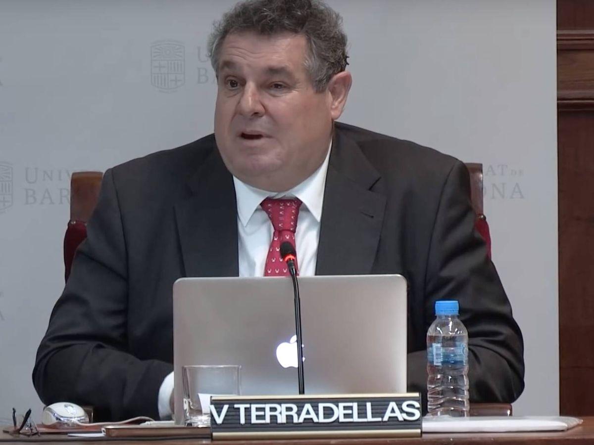 Foto: Víctor Terradellas en una conferencia. YOUTUBE