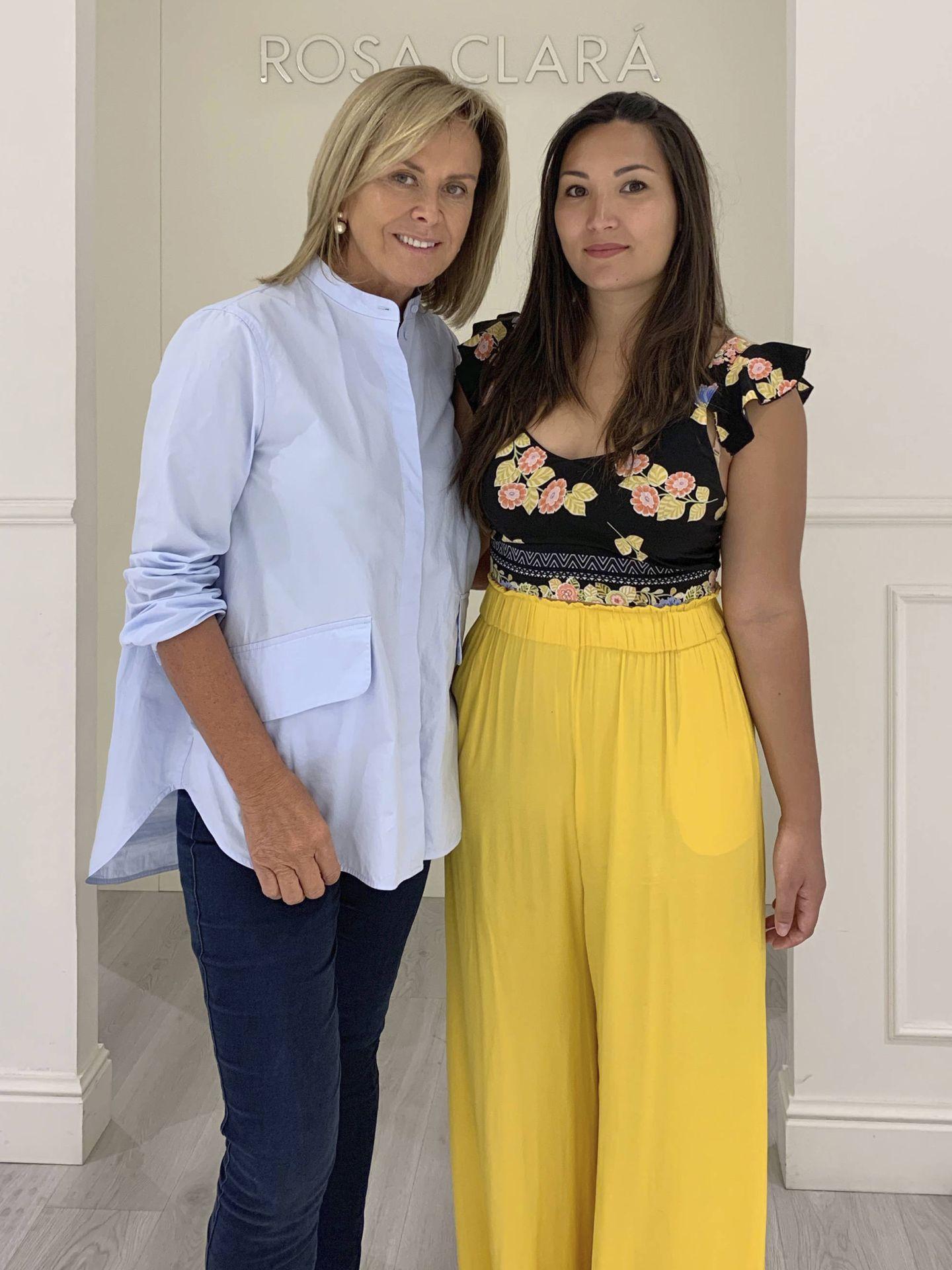 Rosa Clará y Marie Chevallier.