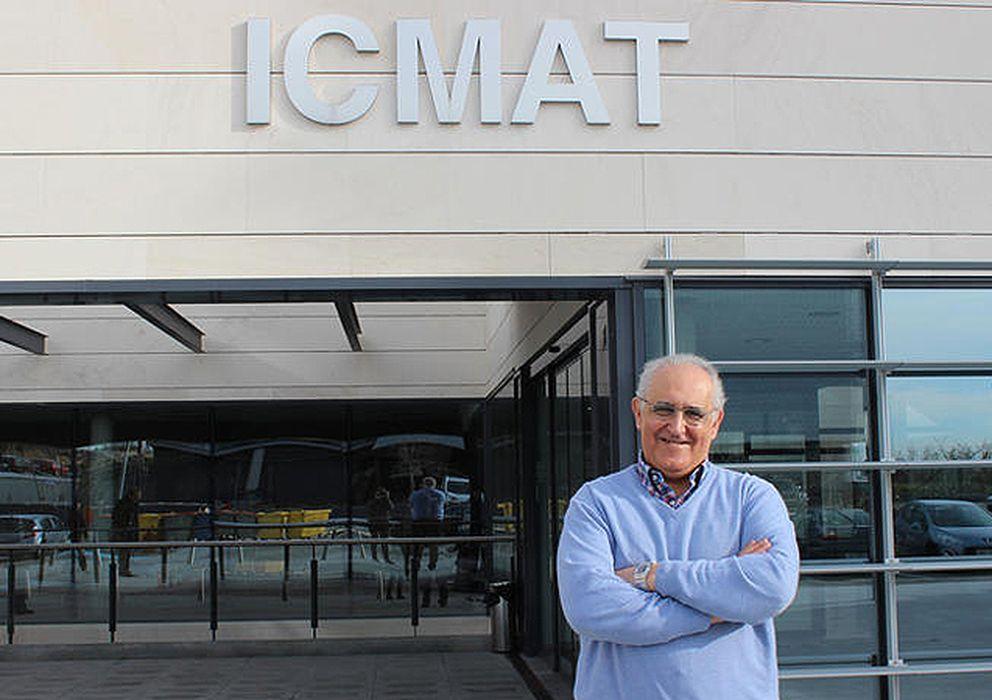 Foto: Manuel de León, director del Instituto de Ciencias Matemáticas-CSIC