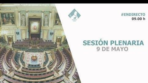 Sesión de control en el Congreso de los Diputados