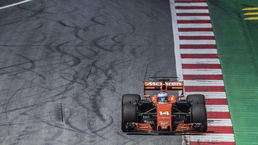 Foto: Fernando Alonso, este fin de semana en Austria. (EFE)