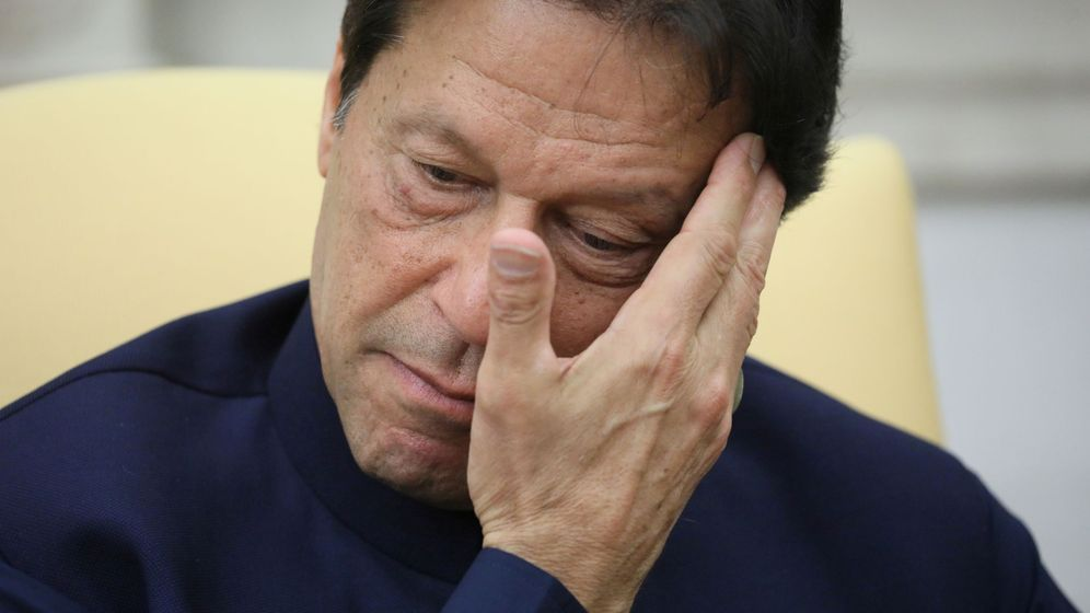 Foto: Imran Khan, en una imagen de archivo. (Reuters)