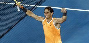 Post de Rafa Nadal arrasa a Tiafoe en el Open de Australia: a los niños todavía les queda...
