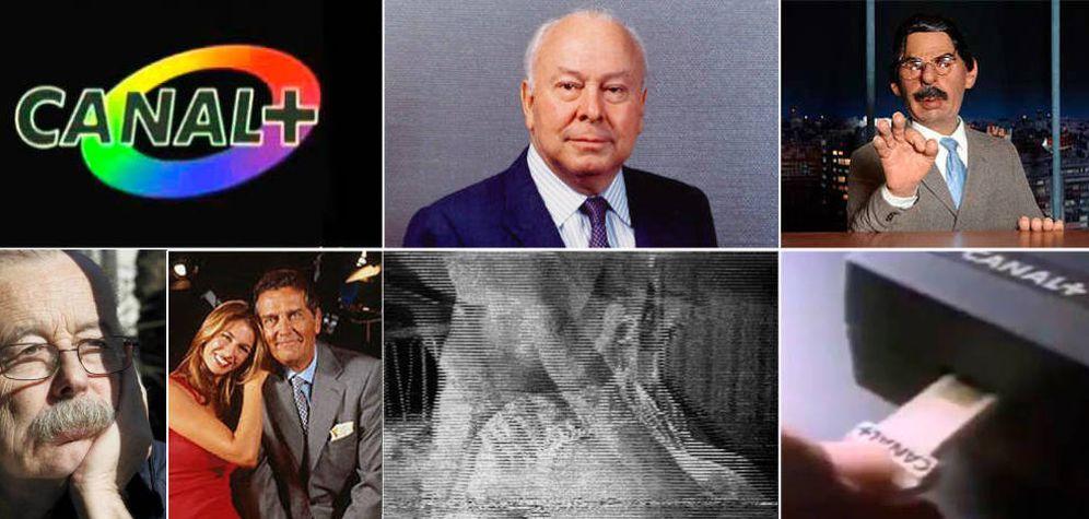 Foto: Algunos de los iconos de Canal Plus.