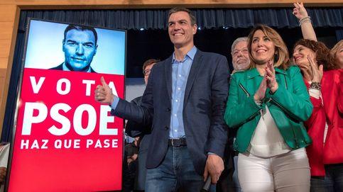 El sorprendente look de Susana Díaz en el arranque de las elecciones