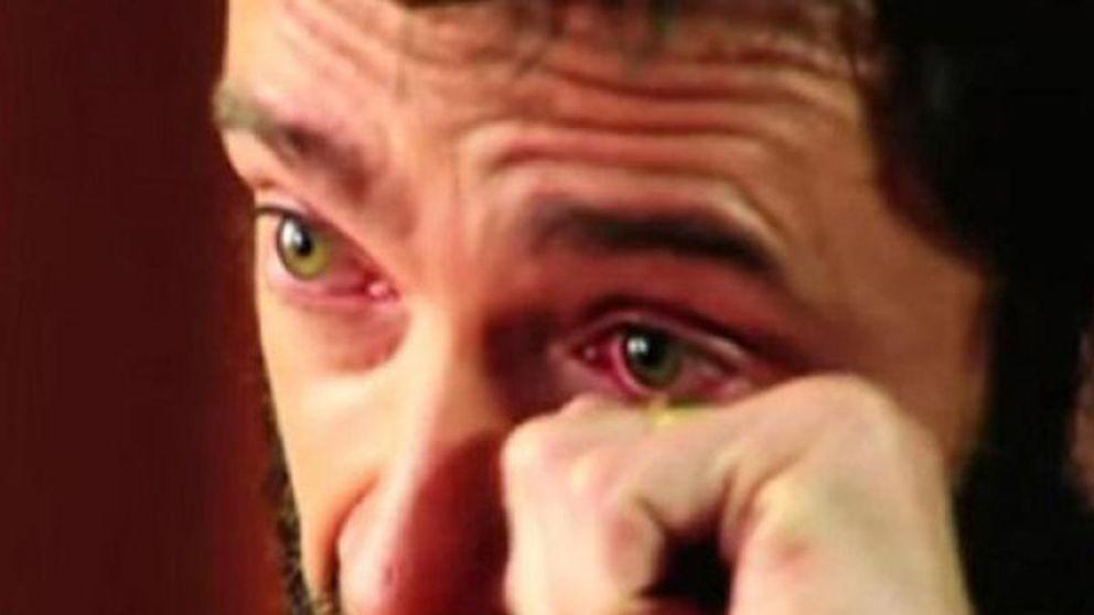 Hugh Jackman se deshace en lágrimas