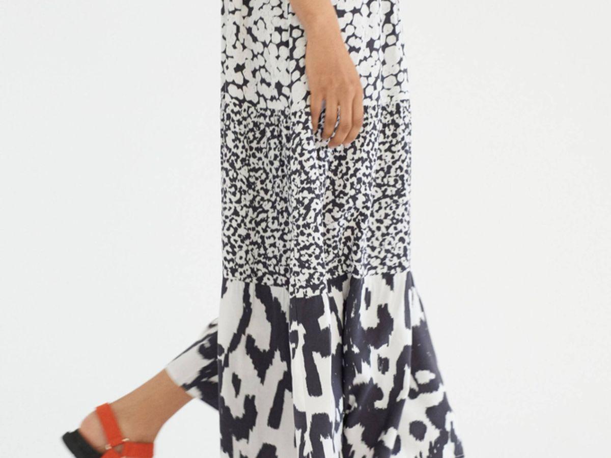 Foto: Vestido estampado de Parfois ideal para el verano. (Cortesía)