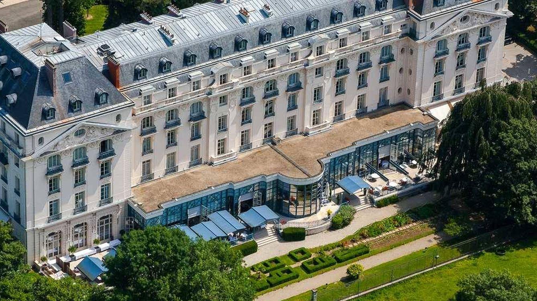 Foto: El Trianon Palace de Versalles.