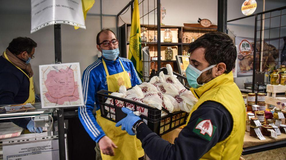 Foto: Un mercado en Italia. (EFE)