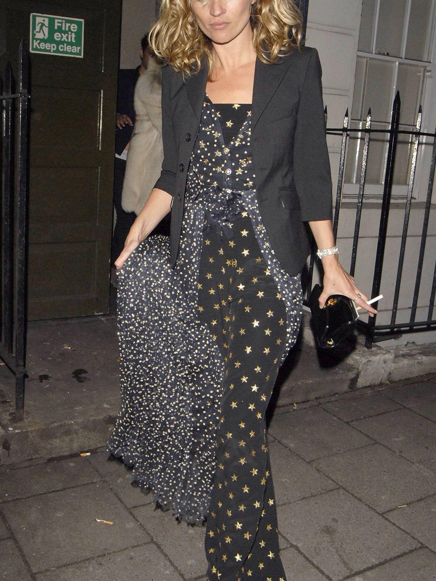 Kate Moss, con estrellas. (Cordon Press)
