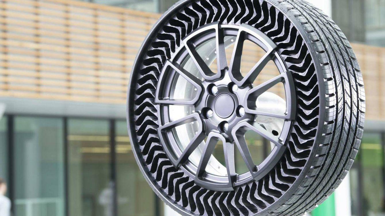 Foto: La rueda Uptis de Michelin (Michelin)