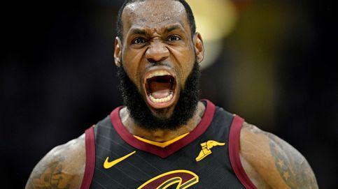Un jugador mejor que LeBron James: LeBron ante la amenaza de ser eliminado