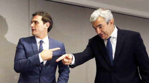 Rivera afronta su peor crisis con una facción sostenida entre Garicano e Igea
