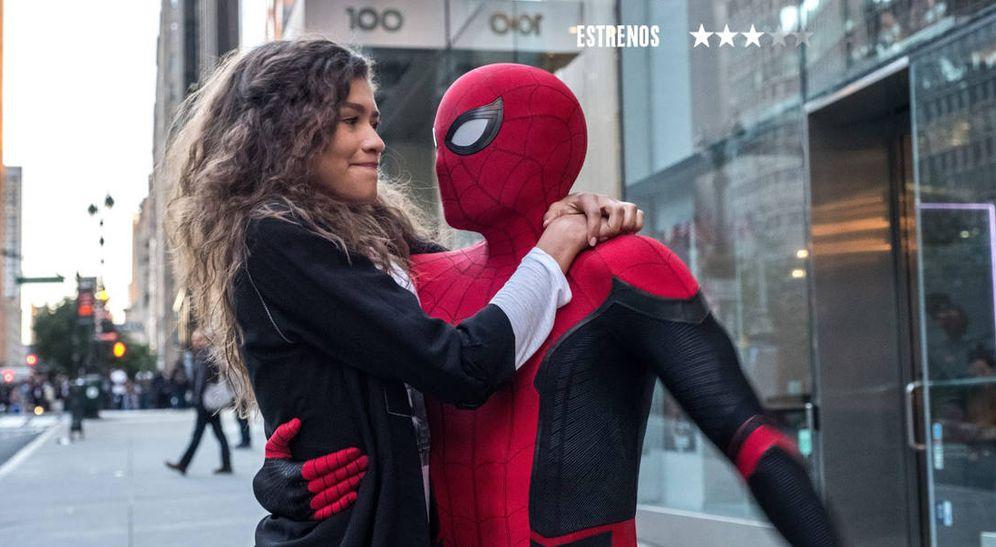 Foto: 'Spider-Man: lejos de casa'.