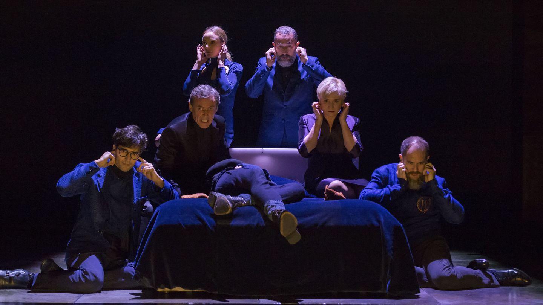 Miguel del Arco dirige 'Hamlet' en el Teatro de la Comedia (A. Nevado)