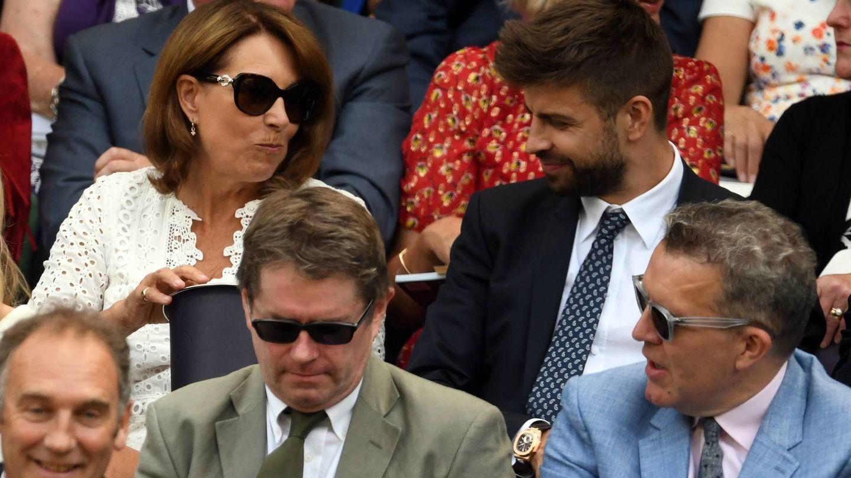 Gerard Pique en Wimbledon. (Cordon)